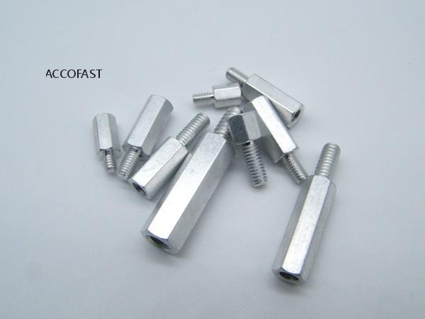 6-32 Aluminum hex standoffs