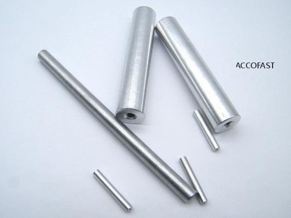 6-32 aluminum round threaded spacers