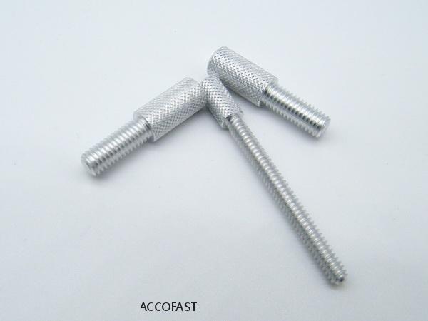 Aluminum thumb screws